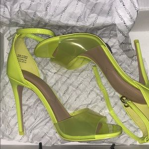 Lime Green or Neon Heals
